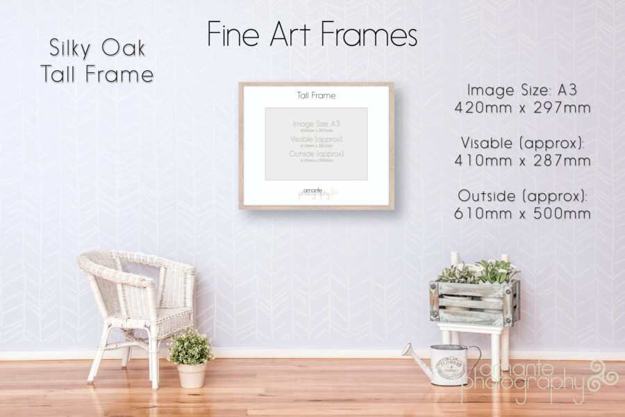 Silky Oak Tall Frame