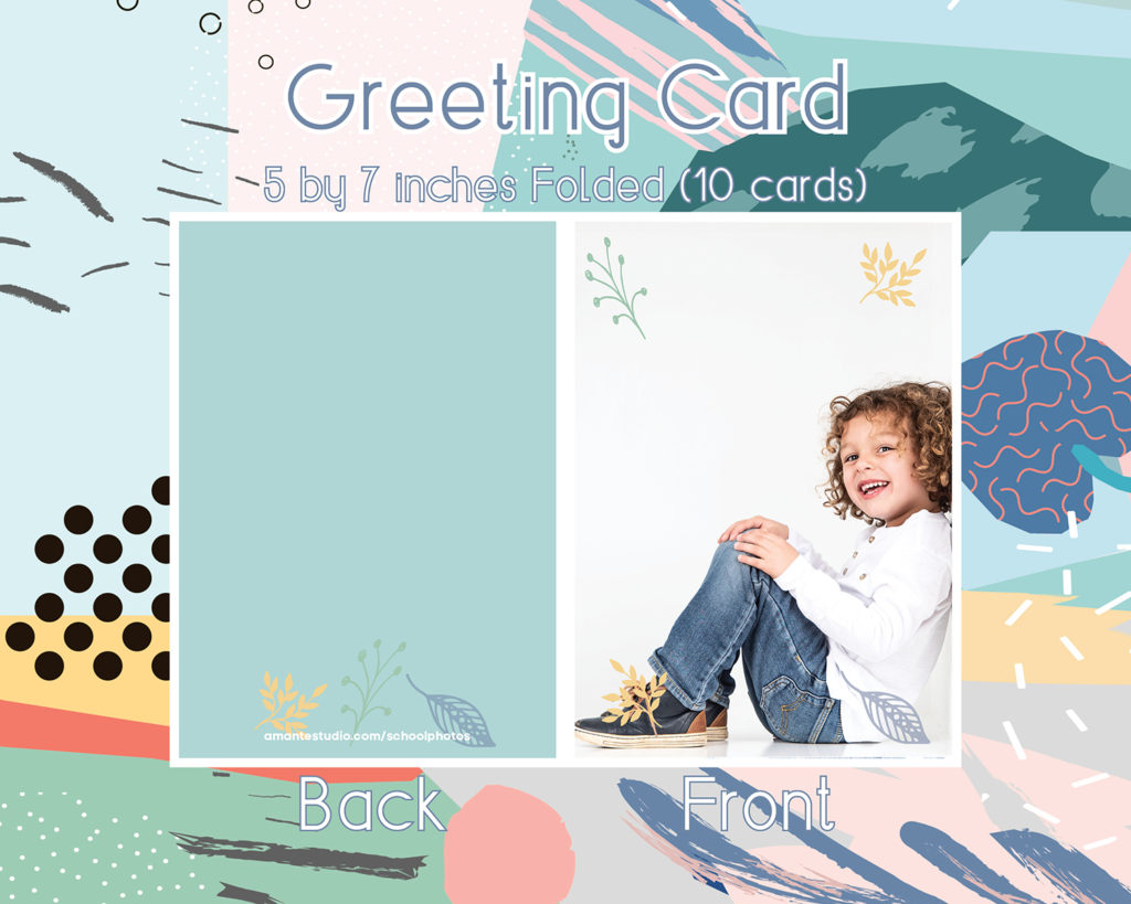 Greeting cards 5 by 7 x 10